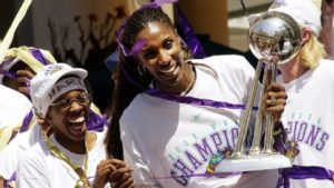Los Angeles Sparks Champs 2002