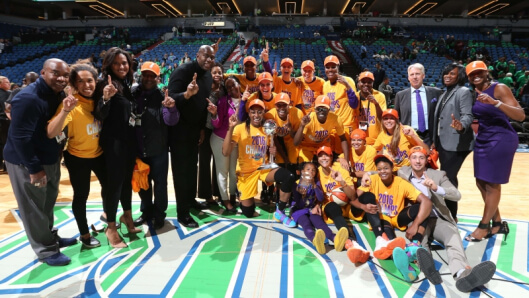 Los Angeles Sparks Champs 2016