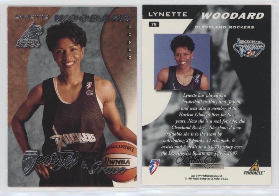 Lynette Woodard - Cleveland Rockers 1997