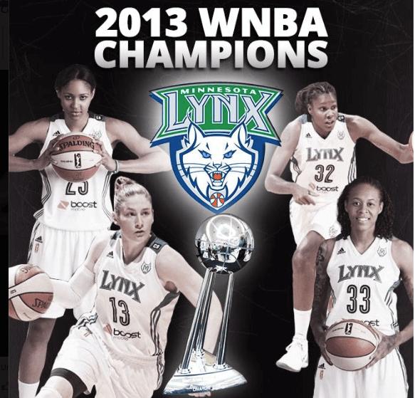 Minnesota Lynx WNBA Champs 2013