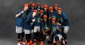 Minnesota Lynx WNBA Champs 2017