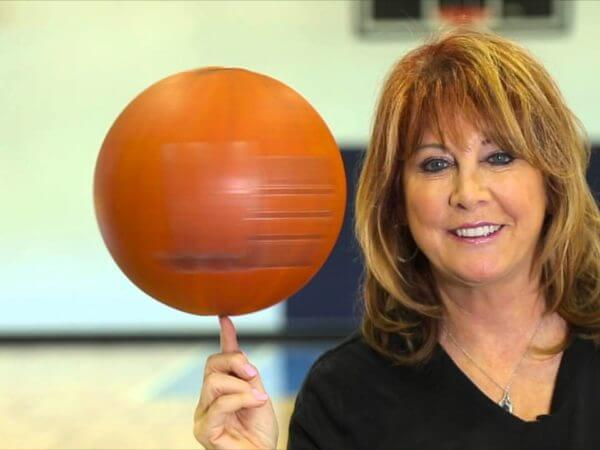 Nancy Lieberman Coach Detroit Shock 1998