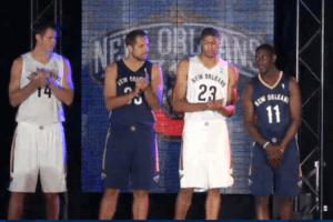 New - New Orleans Pelicans Uniforms