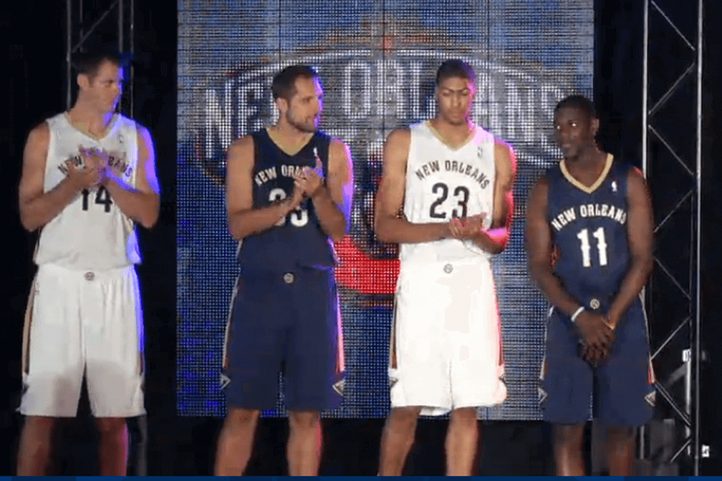 New - New Orleans Pelicans Uniforms