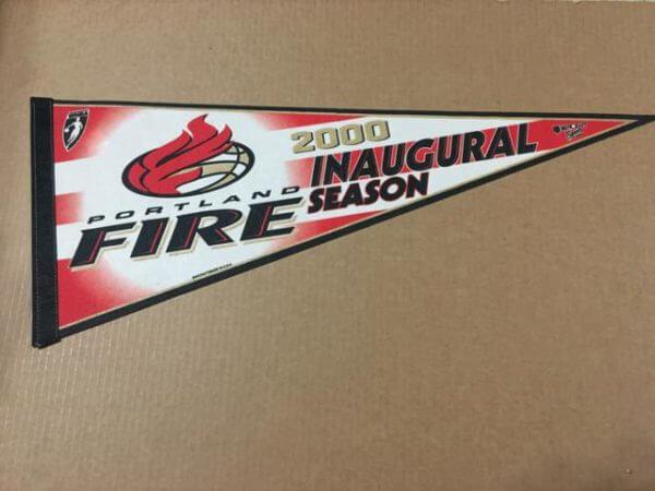 Portland Fire Pennant 2000