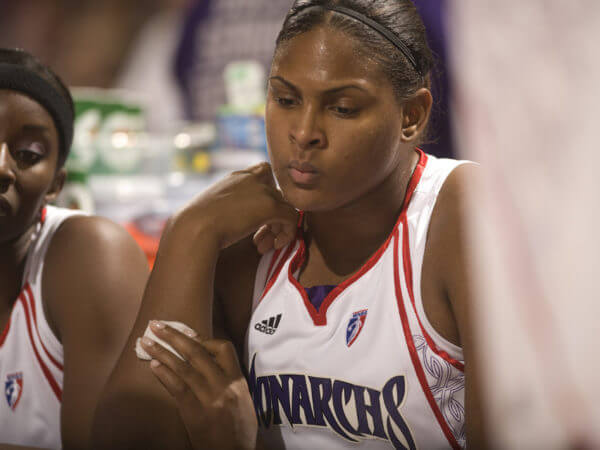 Sacramento Monarchs Courtney Paris