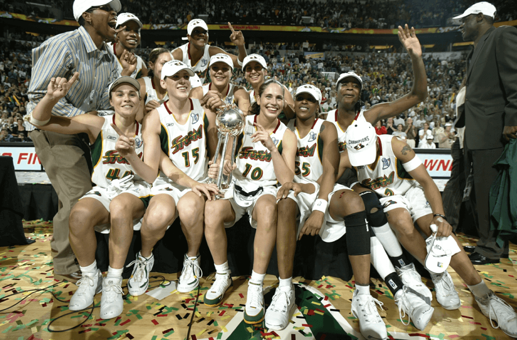 Seattle Storm 2004 Champs
