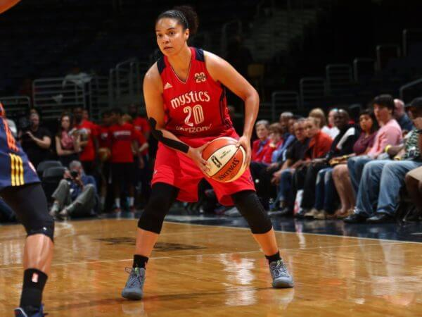 Washington Mystics Kristi Toliver