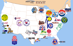 ABA Teams Map 300 x 200
