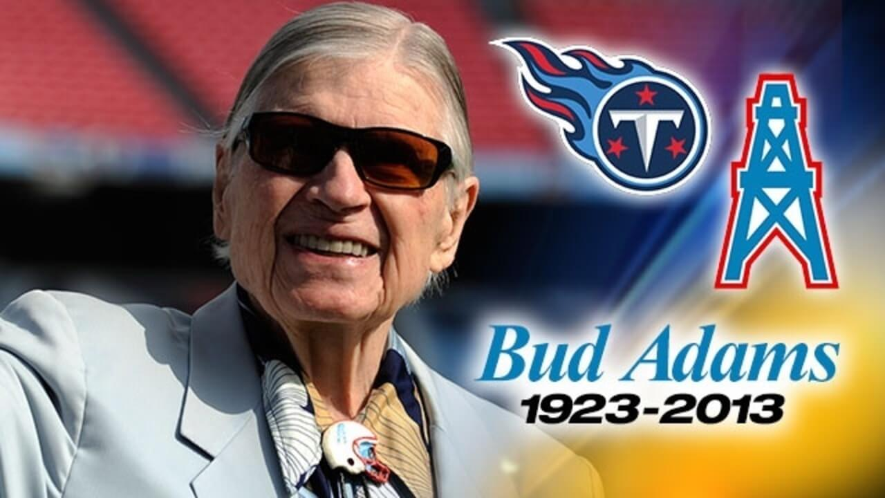 Bud Adams Contribution to Professional Football