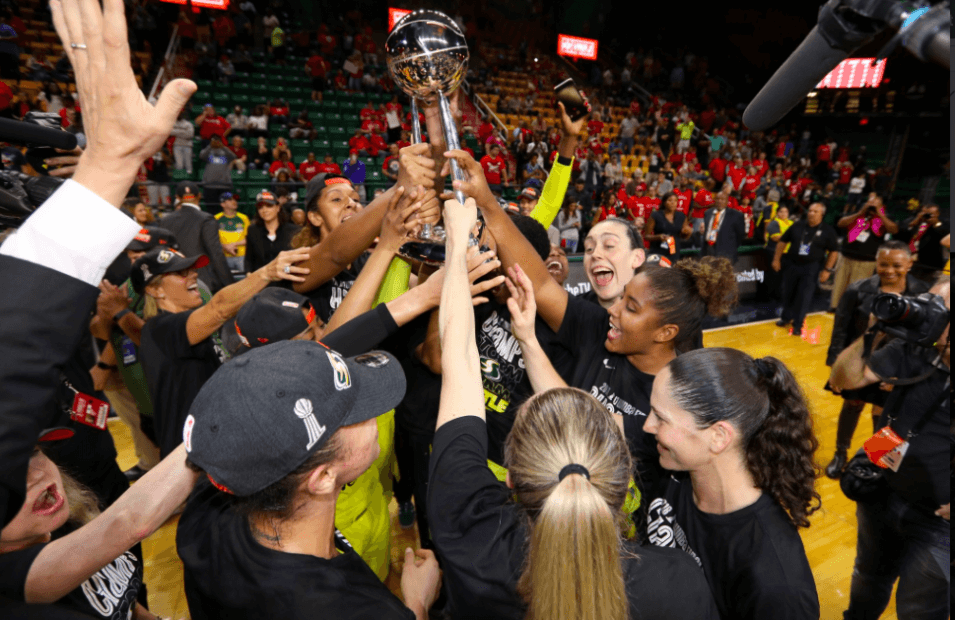 Seattle Storm Championship 2018