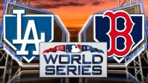 2018 Los Angeles Dodgers vs Boston Red Sox