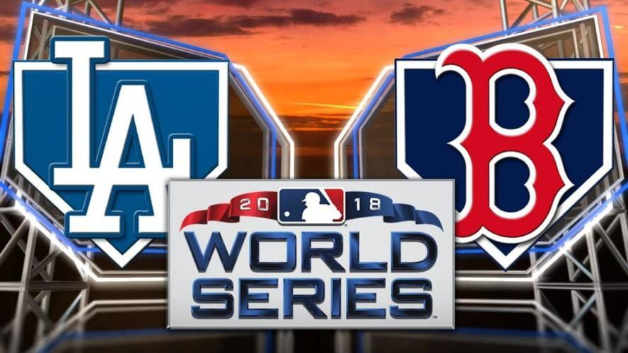 2018 Los Angeles Dodgers vs Boston Red Sox