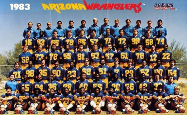 Arizona Wranglers Team Photo