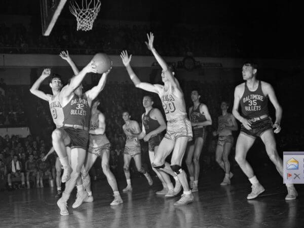 Baltimore Bullets Finals 1948