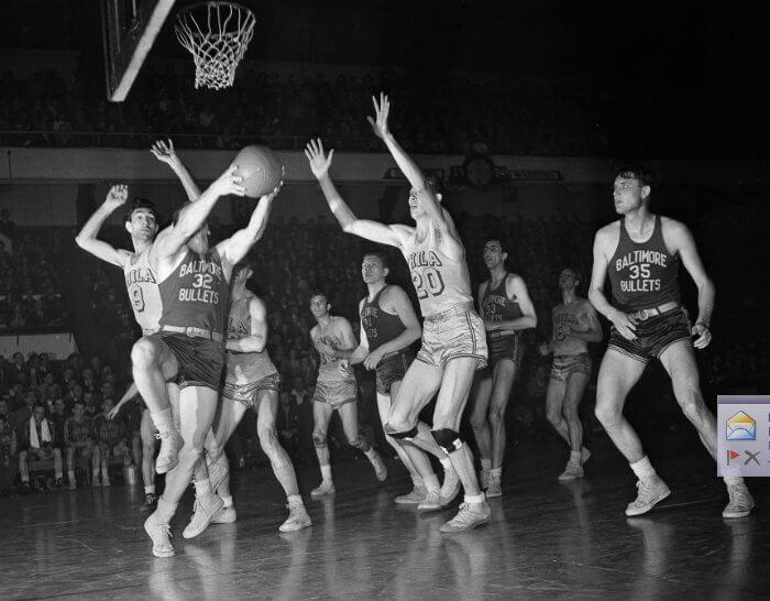 Baltimore Bullets Finals 1948