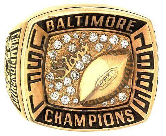 Baltimore Stars Ring