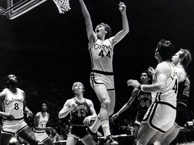 Colonels 72-73 Home Dan Issel, Squires
