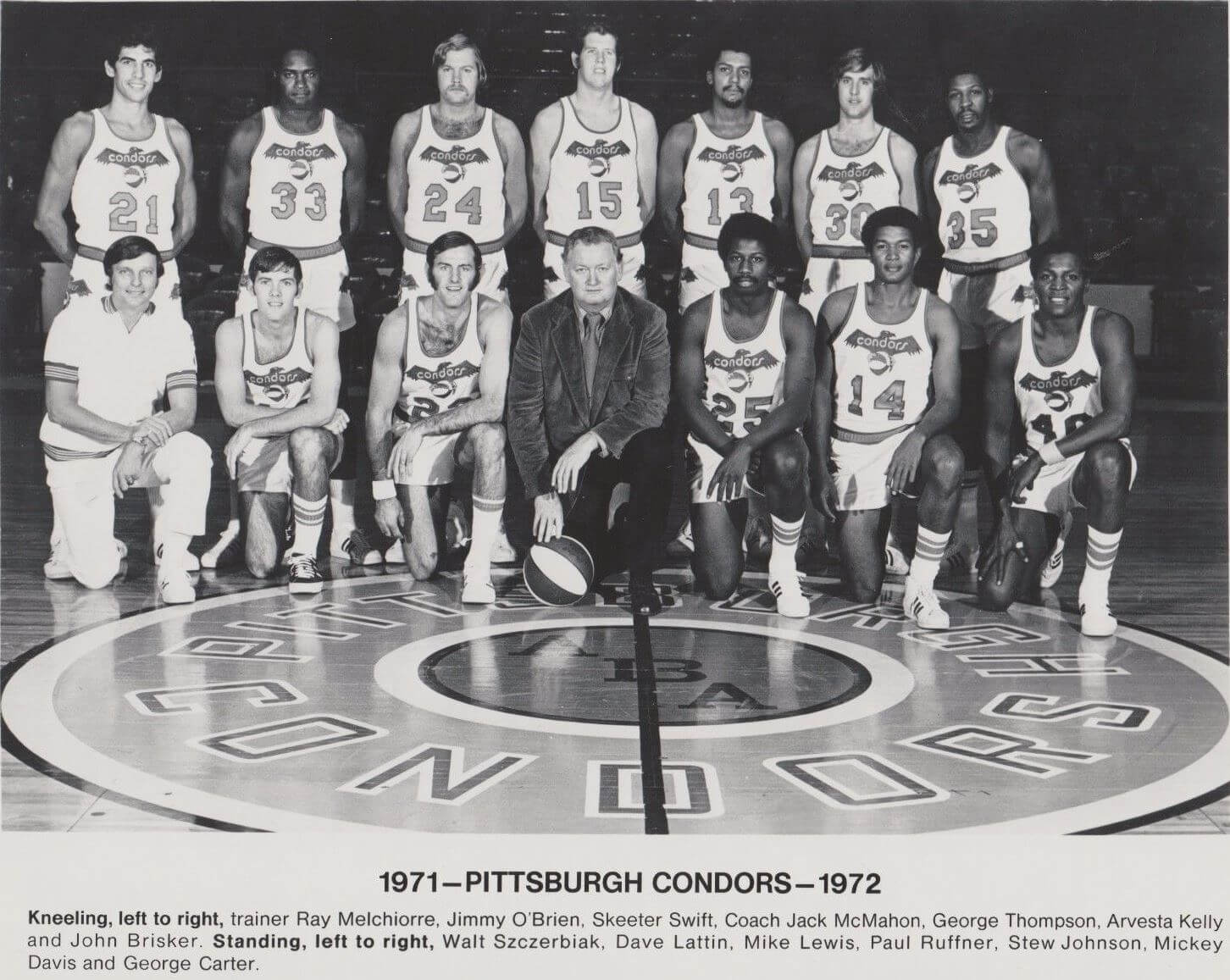 Condors 71-72 Home Team