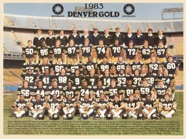 Denver Gold Team Photo