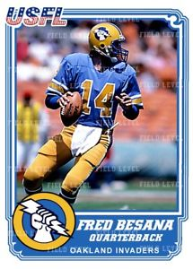 Fred Besana Oakland Invaders