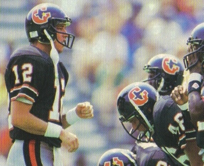 Houston Gamblers Jim Kelly