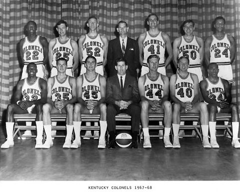 Kentucky Colonels 67-68