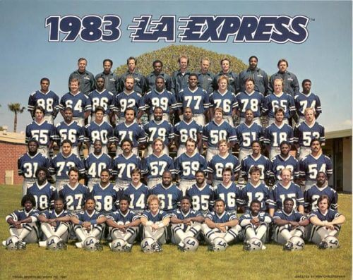 LA Express Team Photo