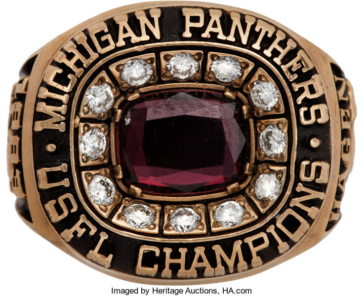 Michigan Panthers Champs 1983