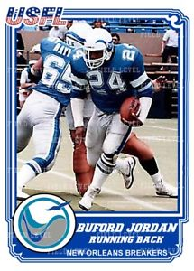New Orleans Breakers - Buford Jordan