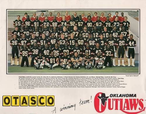 Oklahoma Outlaws 1984