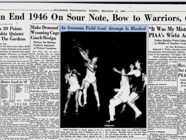 Pittsburgh Ironmen 1947