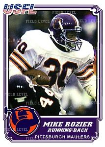 Pittsburgh Maulers - Mike Rozier
