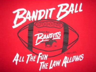 Tampa Bay Bandits Ball