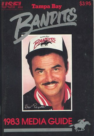 Tampa Bay Bandits Media Guide 1983