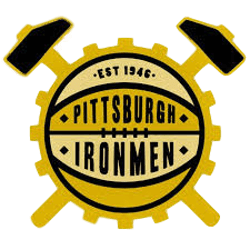 Pittsburgh Ironmen Primary Logo