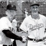 A Long Way from the Polo Grounds. Bill Rigney and Walter Alston.