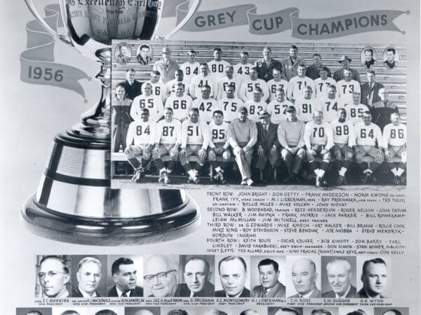 Edmonton Eskimos Football Club 1956