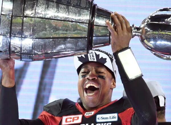 Henry Burris - Ottawa Redblacks 2016