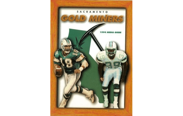 Sacramento Gold Miners Media Guide 1994