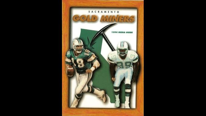 Sacramento Gold Miners Media Guide 1994