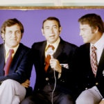 MONDAY NIGHT FOOTBALL -- Frank Gifford joined Howard Cosell and Don Meredith