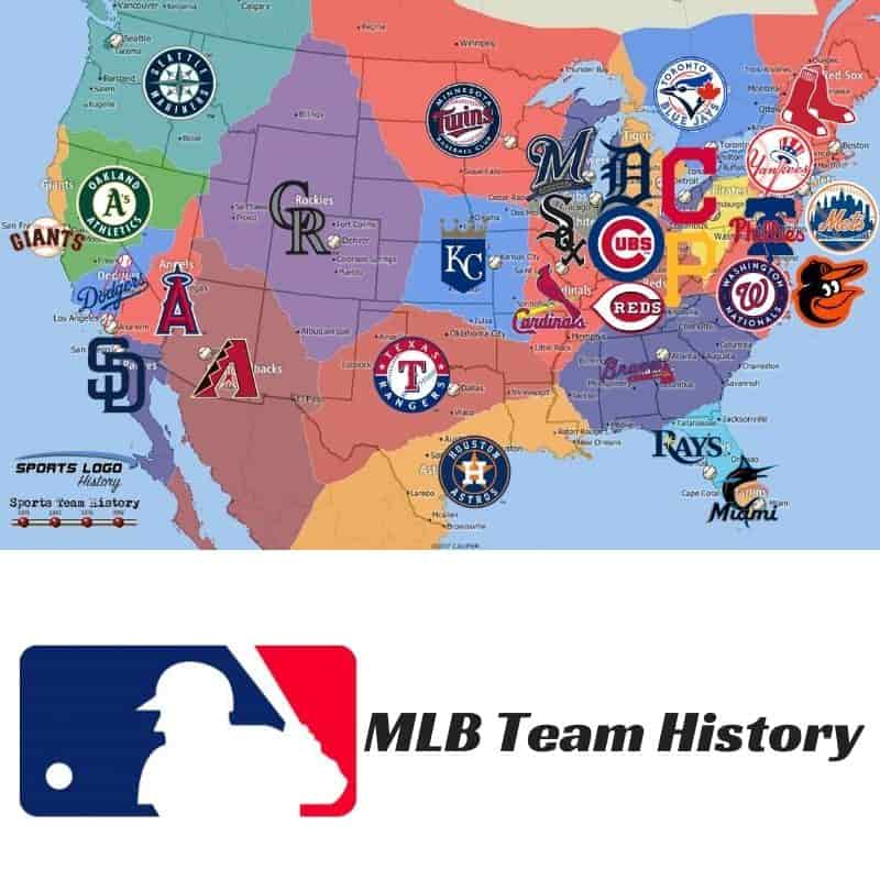 MLB Team History Icon