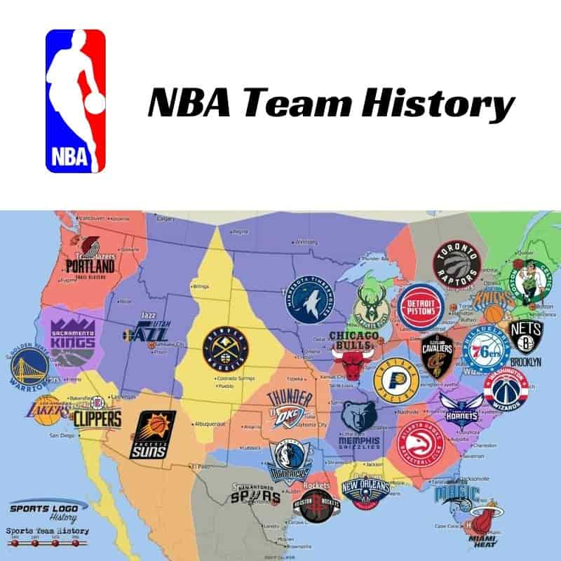 NBA Team History Icon