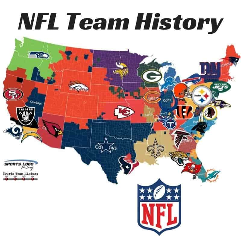 NFL Team History Icon