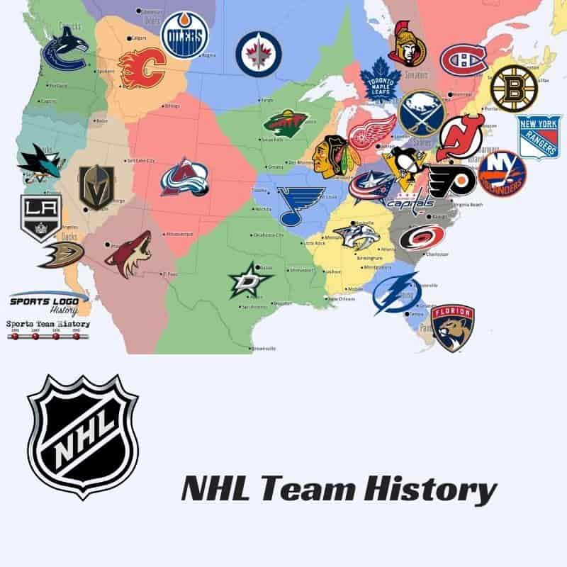 NHL Team History Icon