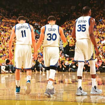 golden state warriors big three