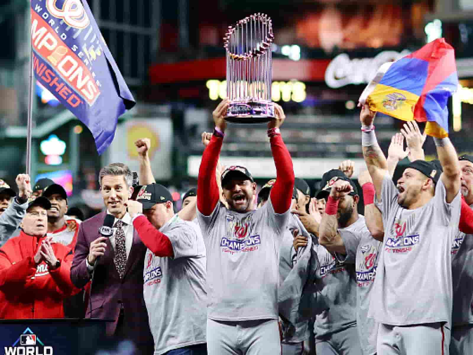 Washington Nationals World Series Champs 2019