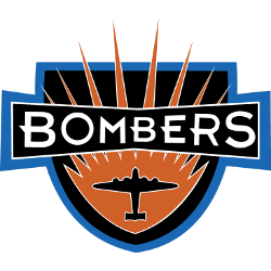 Baltimore Bombers Primary Logo 1993