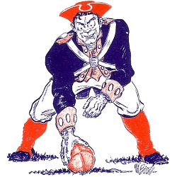 Boston Patriots Primary Logo 1961 - 1971